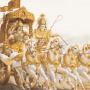 Lord-Krishna-And-Arjuna-On-A-Chariot